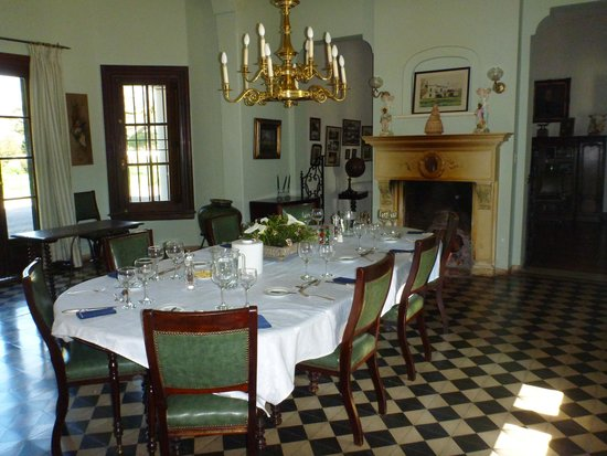 Estancia San Ambrosio: All the meals were taken in the dining room.