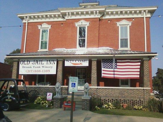 Old Jail Inn Parke County Beautiful Bldg