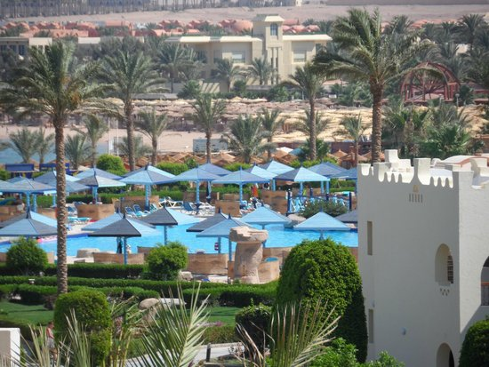 SUNRISE Select Royal Makadi Aqua Resort -Select-: The view from our room