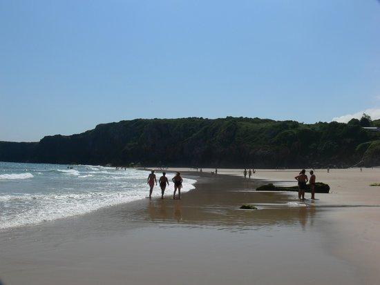 Hotel Rural Andrin: Paseando por la playa