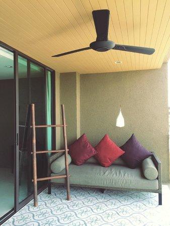 Sunsuri Phuket : Balcony of our room