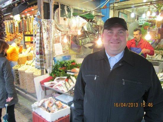 Mono Suites: На египетском рынке в Стамбуле