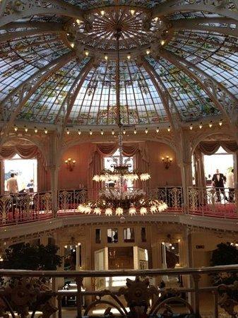 Hotel Hermitage Monte-Carlo: petit dejeuner