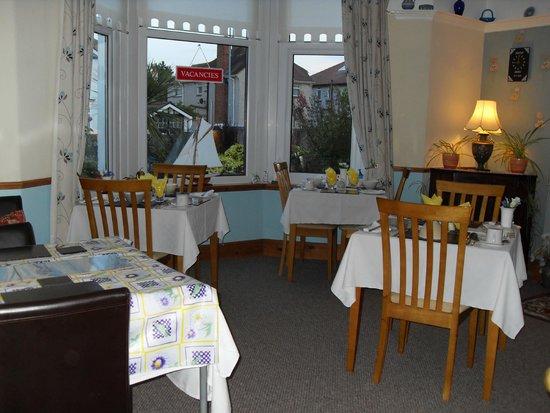 Buxton House: Breakfast room