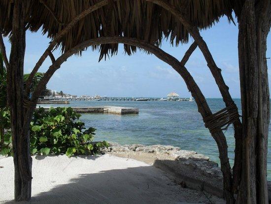 Xanadu Island Resort: View from beach