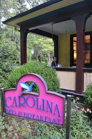 Carolina Bed & Breakfast : peaceful swing