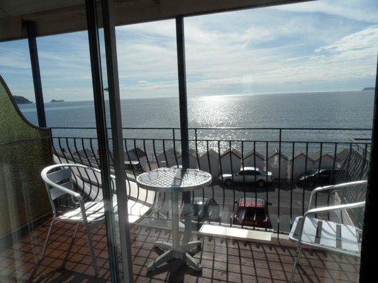 Preston Sands Hotel: balcony, room 2.
