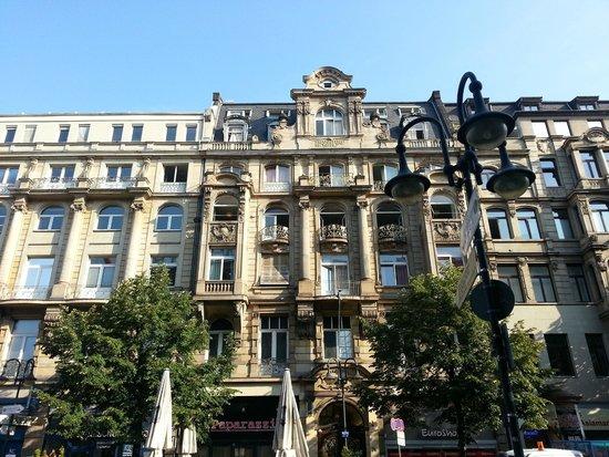 Frankfurt Hostel: Blick von aussen