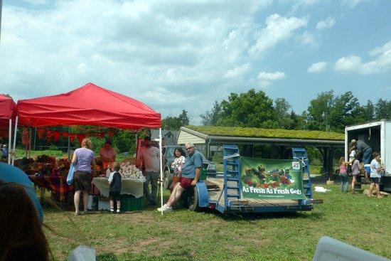 Duke Farms: Farmer's Market