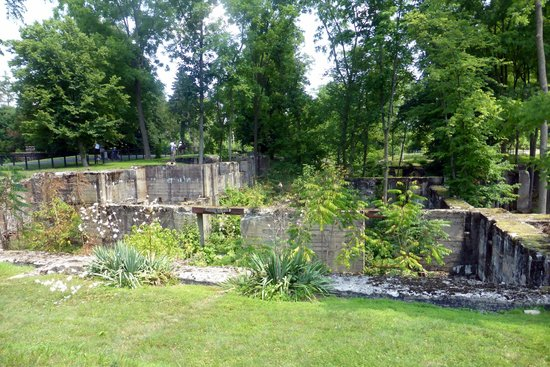 Duke Farms: Old Foundation of  Uncompleted Formal Mansion