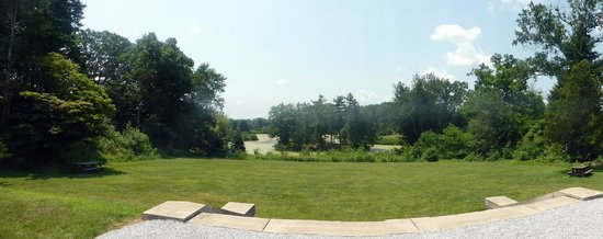 Duke Farms : View of the Great Meadow