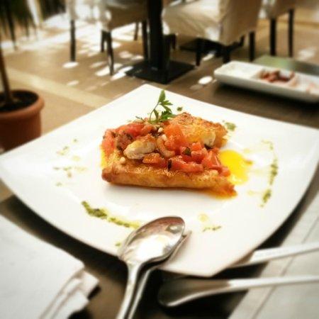 La Boheme : Feta wrapped in Filo pastry