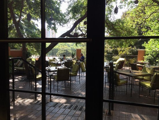 Rosewood Mansion on Turtle Creek : The Terrace for outside dining