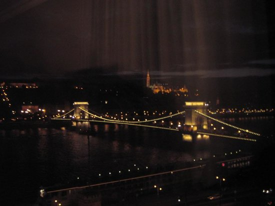Sofitel Budapest Chain Bridge: View from room814