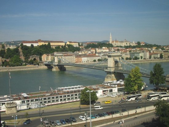 Sofitel Budapest Chain Bridge: View from private lounge