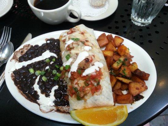 Cadillac Cafe: Breakfast Burrito