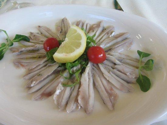 Osteria Tumelin: Alici marinate
