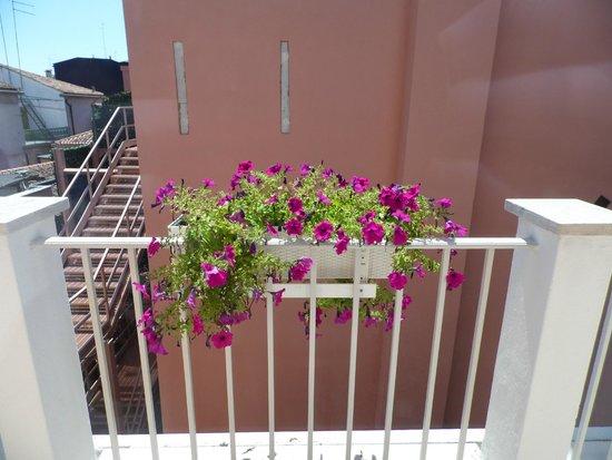 Ai Mori d'Oriente Hotel: Balcony