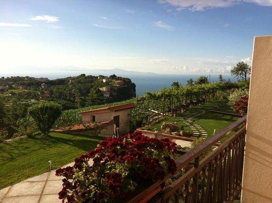 Casa Pendola: vista dal balcone