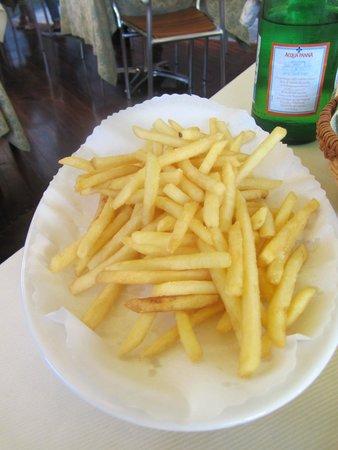 Osteria Tumelin: Patatine fritte