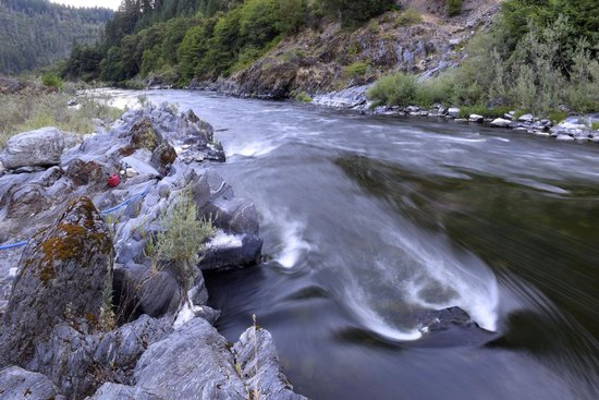Momentum River Expeditions : Slow shutter at dusk