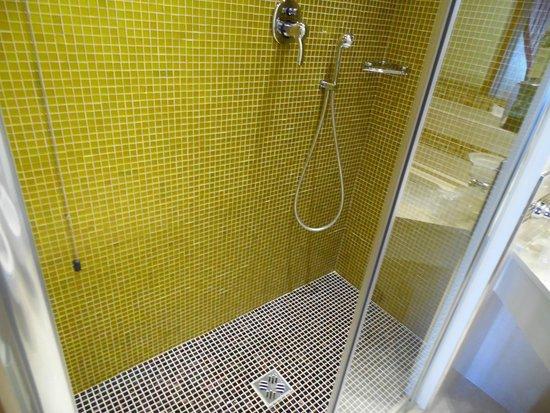 Ai Mori d'Oriente Hotel: Shower