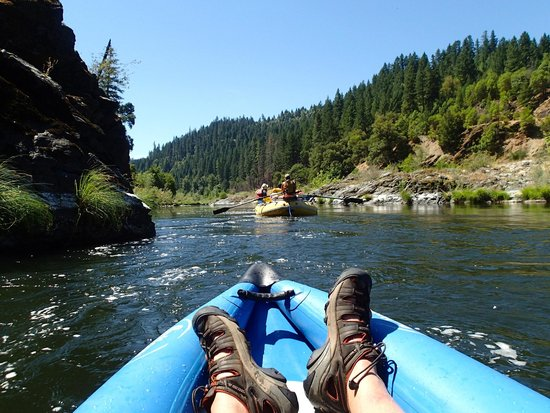 Momentum River Expeditions : another mid river shot from the kayak