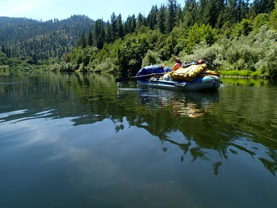Momentum River Expeditions: Gear boat on the way down