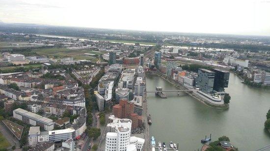 Rhine Tower (Rheinturm) : View from Top 3