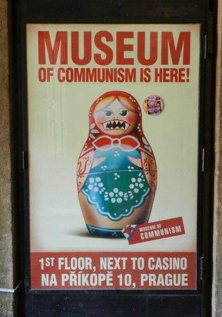 Museum of Communism : Museum poster ;)
