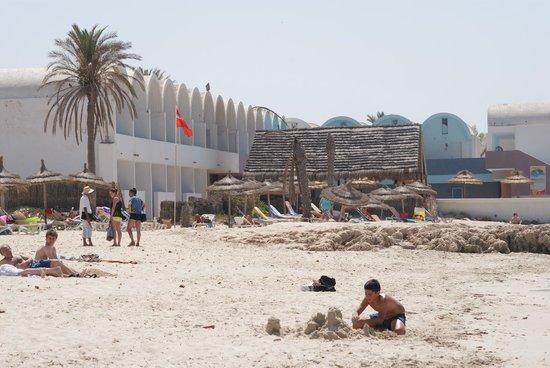 Club Marmara Dahlia : plage du côté du Narjess