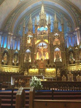 Basilique Notre-Dame de Montréal : Notre dame