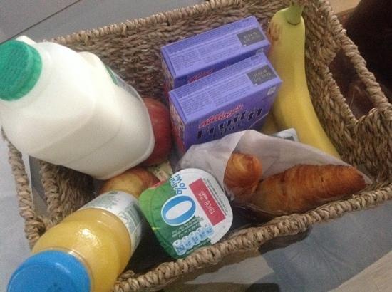 196 Bishopsgate: Petit déjeuner