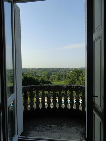 Domaine de la Tortiniere : View from the room