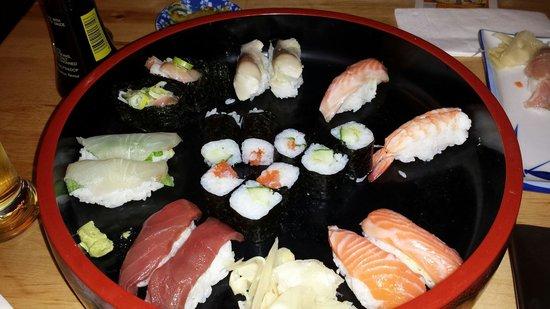 25hours Hotel The Goldman : Tarawaya Japanese restaurant next door. Great Sushi!!