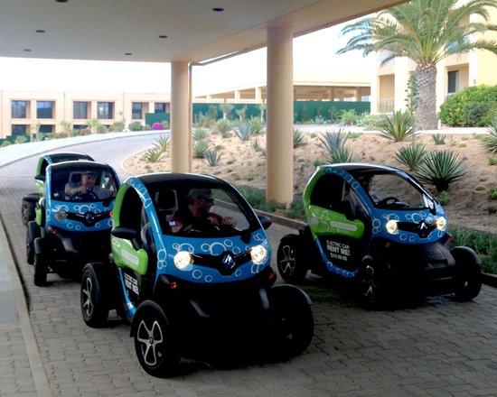 Pestana Colombos Premium Club: Bubble cars