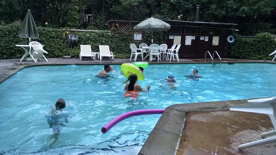 Redwoods River Resort & Campground: pool