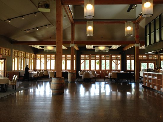 Restaurant Area Picture Of Church And State Wines Central Saanich Tripadvisor