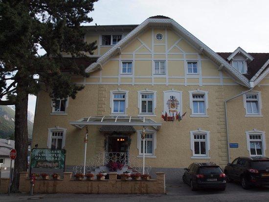 Hotel Garni Hubertus : Hotel Hubertus Eingang