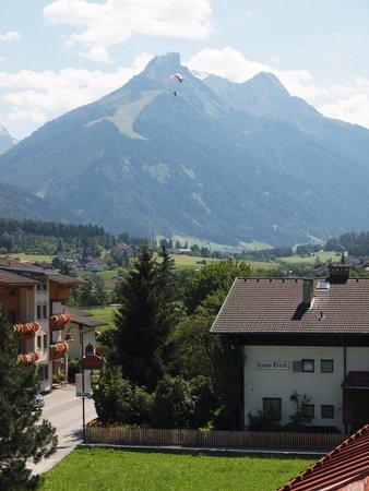 Hotel Garni Hubertus : Bergblick vom Balkon