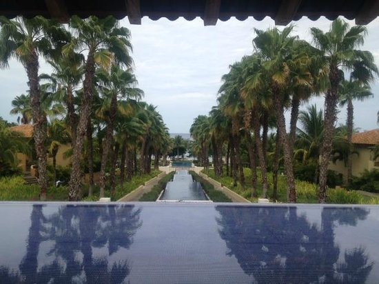 The St. Regis Punta Mita Resort: the usual photo of the descending pools as your arrive