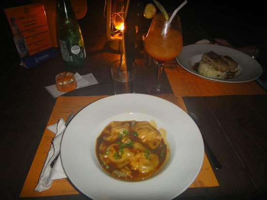 Moorea Beach Cafe : Lobster ravioli special