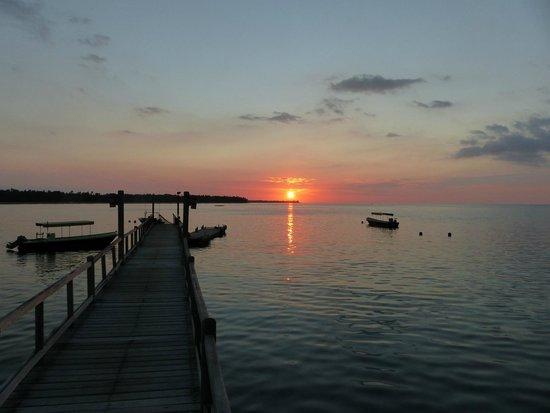 The Oberoi, Lombok: coucher de soleil