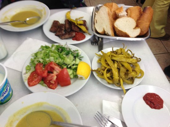 Sultanahmet Koftecisi: очень простое, но супер вкусное