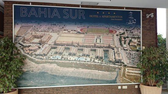 Bahia Sur Hotel: hotel familiar viejo..