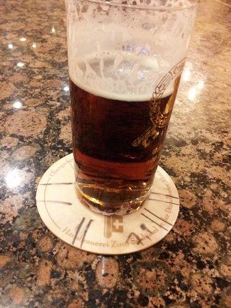 Hausbrauerei zum Schlussel : La birra