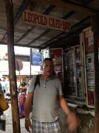 Chhatrapati Shivaji Terminus : The famous Leopolds cafe