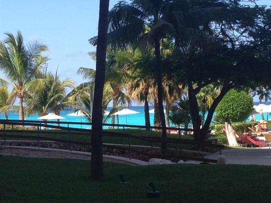 Grand Fiesta Americana Coral Beach Cancun: view from my room