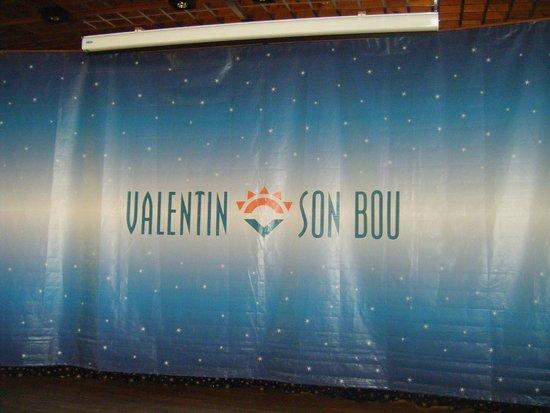 Valentin Son Bou: escenario de animaciones