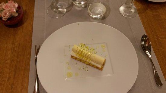 L'Anthocyane : Dessert - Sablé au citron